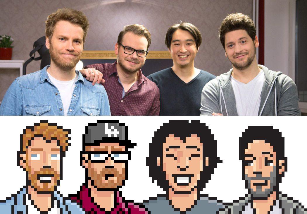 Pixel Portrait of Friends by ArtOfRam