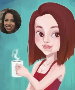 Cartoon Portrait Sample by Amaya Quiroz