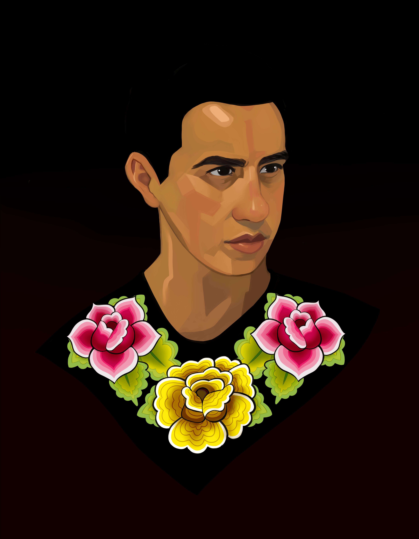 Bust Portrait by Amaya Quiroz