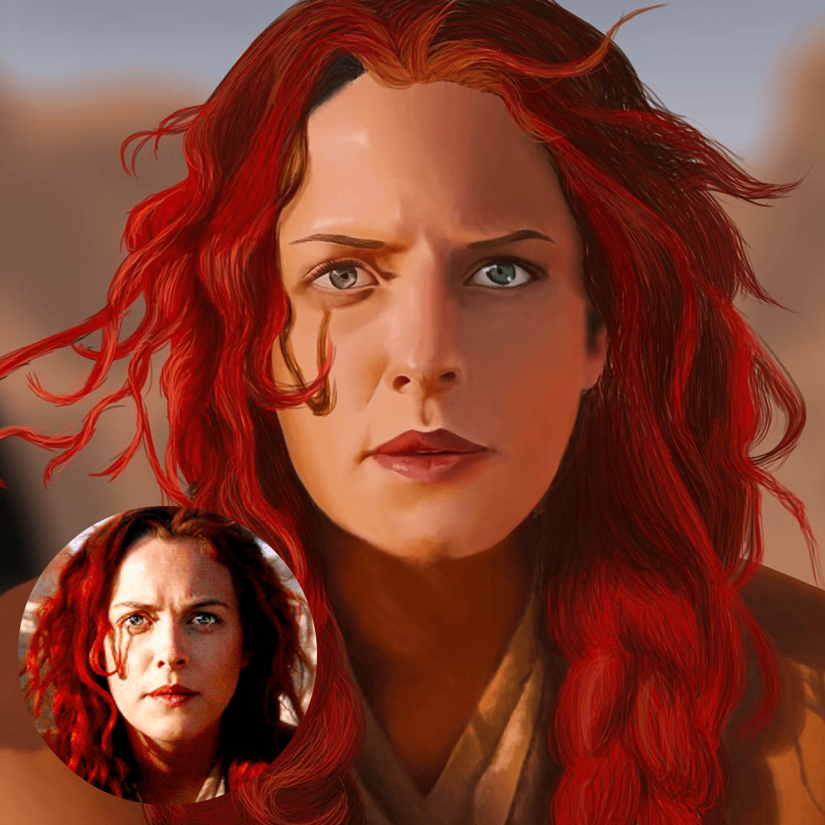 Portrait Sample by Jenn Peterson