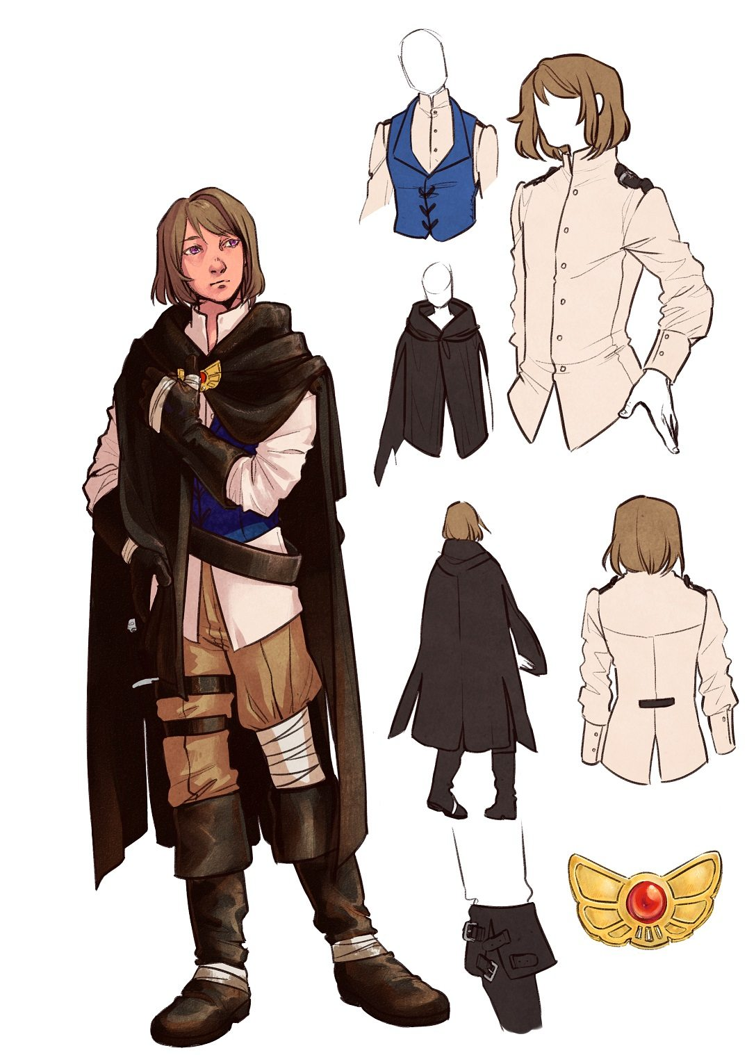 Character Design Sample by Namio