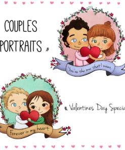 Eli Coronel Cute Couple Portrait Samples