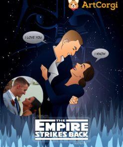 Commission Sample by ArtOfRam Star Wars Tribute