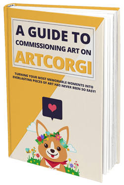 ArtCorgi Hardcover Book - The Ultimate guide to commissioning art on ArtCorgi