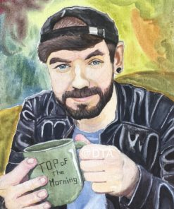 Traditional Portraits by DolphinTreasure Art featuring Jacksepticeye