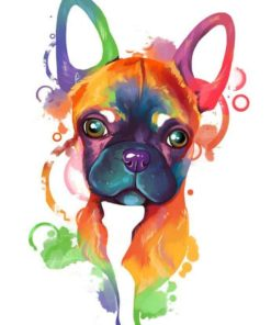 ArtCorgi - Rainbow Pet portrait commissions by Aeryn