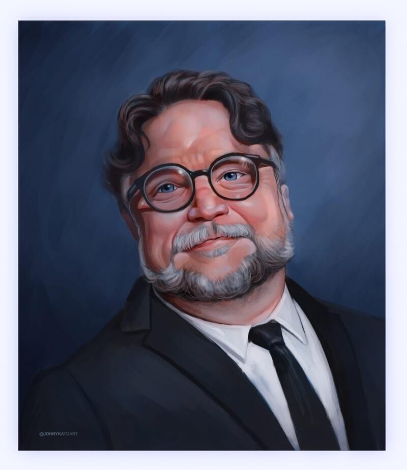 ArtCorgi - Realistic portraits by JohnykatoArt featuring an man in a suit