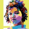 ArtCorgi - WPAP pop art portraits commission sample by Ari Alfian