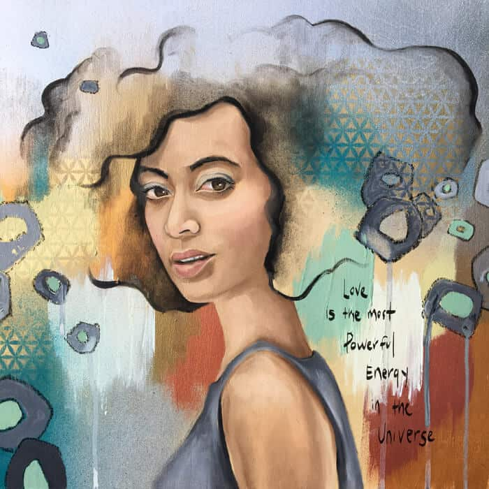 ArtCorgi - Ethereal traditional portraits by Leah Guzman