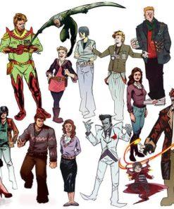 ArtCorgi - Comic book illustrations commission sample by Omniopticon