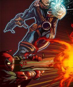 ArtCorgi - Comic book illustrations commission sample by Omniopticon 5