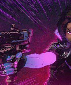 ArtCorgi - Overwatch fanart - Comic book illustrations commission sample by Omniopticon