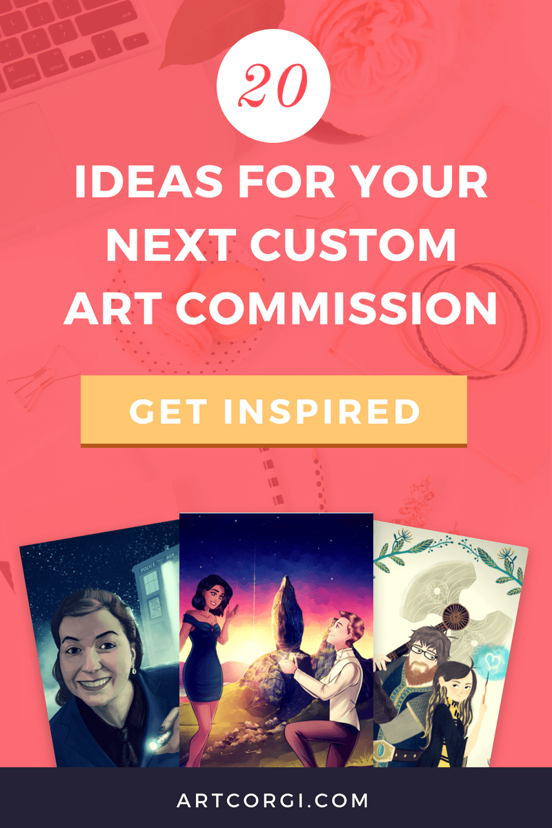 20 ideas for your next custom art commission - ArtCorgi
