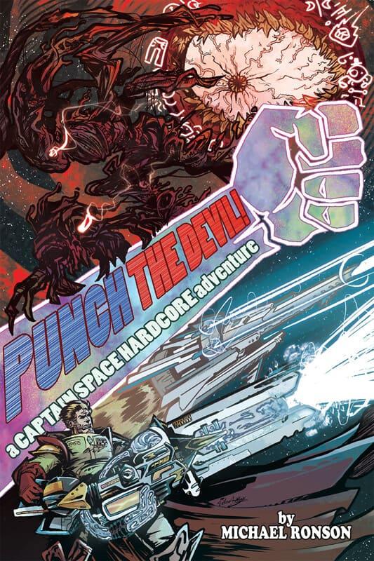 Sci-Fi Book Cover Art by Omniopticon - Punch the devil - via ArtCorgi