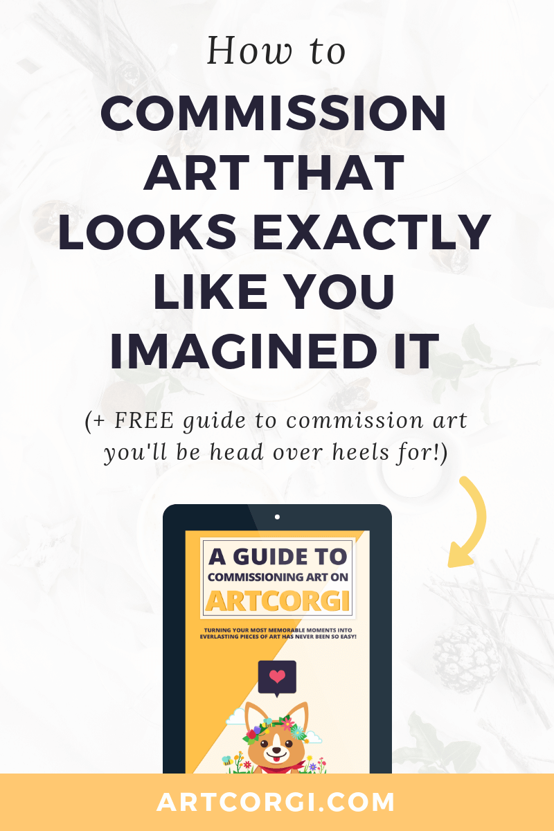 How to commission art that looks exactly like you imagined it - ArtCorgi