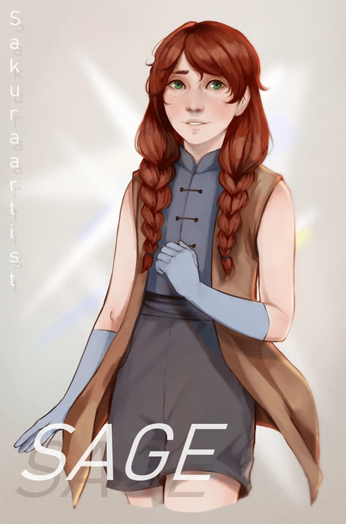 ArtCorgi - Character illustrations by SakuraArtist Sage