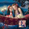 ArtCorgi - Donna Capacete Disney inspired portraits