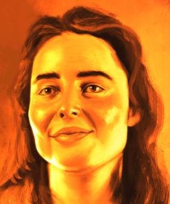 ArtCorgi - Realistic Monochrome Bust Portraits by Ja'lisa Yates 2