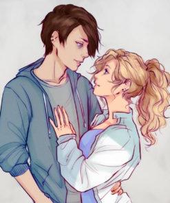ArtCorgi - Sketchy illustrations by SakuraArtist featuring a couple hugging