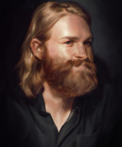 ArtCorgi - Realistic Portraits by edraart featuring a bearded man